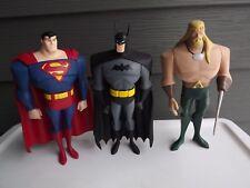 Mattel DC Animated Justice League Batman Superman Aquaman Action Figures
