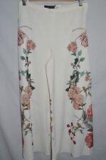 Zara Wide Leg Trousers Flower for Women