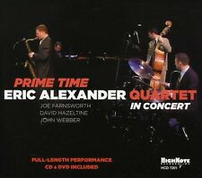 Eric Alexander, Eric Alexander Quartet - Prime Time [New CD] With DVD