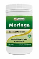 Best Naturals Moringa leaf Powder Great For Energy, Nutrition 1 LB