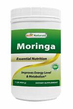 Best Naturals Moringa leaf Powder Great For Energy, Nutrition 1 LB - exp 2021