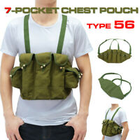 Vietnam War  US Army Type 56 * Chest Rig Ammo Bandolier Pouch Tactical Bag
