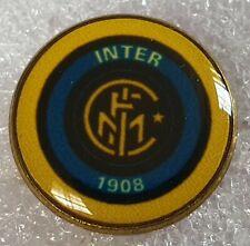 Distintivo calcio INTER badge INTERNAZIONALE MILANO no piedino vintage