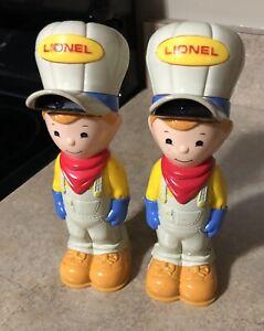 "Lionel Figure Has Lights Lot Of 2 Genuine 7"""