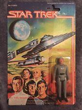 RARE Vintage 1979 MEGO STAR TREK NAME ERROR Figure Mr. Spock Scotty New on Card