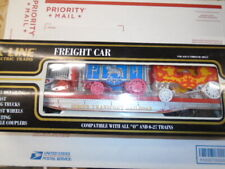 K-LINE K-69002 CIRCUS TRANSPORT RAILWAY CLASSIC FLAT CAR WITH WAGONS