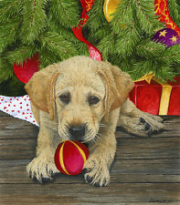 Puppy Love Christmas 300 piece Jigsaw Puzzle SunsOut Jigsaw Jeanette Fournier