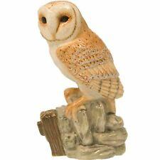 More details for new boxed john beswick barn owl bird figure ornament jbb22