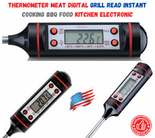 Thermometer Meat Digital Grill Read Instant Cooking Bbq Food Kitchen Electronic