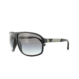 Emporio Armani Sunglasses 4029 50638G Black Rubber Gray Gradient