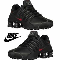 NIB NEW Men's Nike SHOX NZ Running Shoes Torch Sneakers  Black Red TL