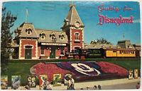 Greetings From Disneyland The Magic Kingdom Vintage c1966 Photo Postcard