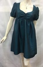 ASOS Size UK 10 fits Aus 8 Dark Turquoise Blue Dress