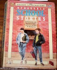 MEMORABLE SCHOOL STORIES Laurie Lee DH Lawrence Twain Dickens Kipling Enns et al