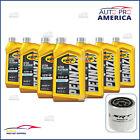 (7) 1 Qt Pennzoil 0W40 Full Synthetic Motor Oil & (1) OEM MOPAR SRT Oil Filter