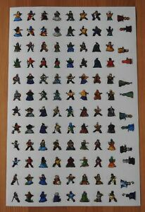 Carcassonne – 108 Anniversary Meeple Stickers | Accessory | New