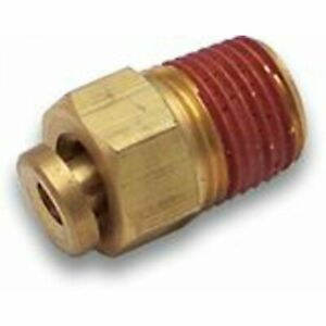 """5/16"""" Push to 3/8 NPT Male Air Fitting"""