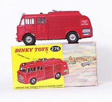 DINKY TOYS 276  * AIRPORT FIRE TENDER *  OVP * ORIGINAL MECCANO * TOP * RAR