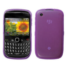 BlackBerry Curve 8530 / 8520 Transparent TPU Silicone Skin Case Cover