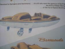 1964 Vintage STING RAY Mini Craft Boat Brochure Barracuda PWC