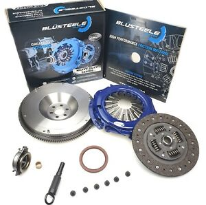 Blusteele HEAVY DUTY clutch kit & SMF FLYWHEEL for NISSAN X-TRAIL T30 2.5 litre