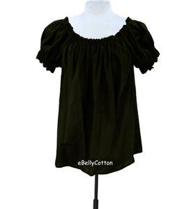 Chemise Blouse Cotton Gauze Peasant Shirt Renaissance Costume Halloween medieval