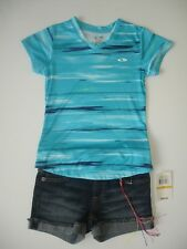 Girl 6X / 7 - Nwot Champion C9 Shirt and Nwt Lucky Riley Short