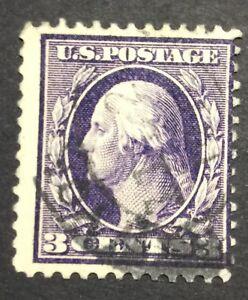 Original US stamp 3 cent George Washington