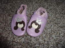 ROBEEZ 6-12 PURPLE PRINCESS LEATHER SHOES