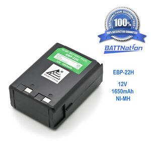 12V 1650mAh EBP-22 EBP-28 Battery for ALINCO DJ-180 DJ-480 DJ-280 DJ-582