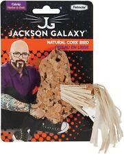 """New listing Petmate Jackson Galaxy Cork Bird Straw Cat Toy Catnip Treated 6"""" Small corknip"""