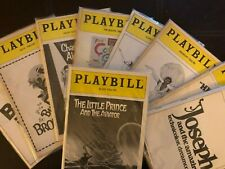 Playbills 1999 and before