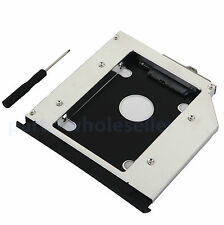 con panel 2nd HDD SSD Disco Duro Caddy para HP EliteBook 8560w 8570w 8760w 8770w