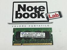 Memoria Ram Sodimm So-Dimm Samsung 256MB PC2-4200S DDR2 533 M470T3354BZ3