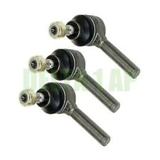Set of 3 Front Right For VW & Alfa Romeo Steering Tie Rod Ends W/2 Year Warranty