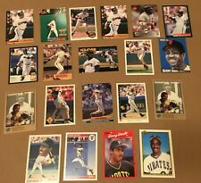 BARRY BONDS 20 CARD LOT O PEE CHEE STADIUM STUDIO TRIPLE PLAY ULTRA SCORE GIANTS