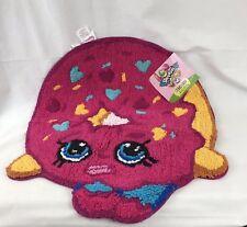 Shopkins Dlish Donut Bath Rug Mat 21.5x23.5 Round 100% Cotton