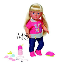 ZAPF CREATIONS Baby Born Interactive Doll Sister  *  Brand New  *