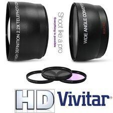 Super Saving Hi Def Lens & Filter Pack For JVC Everio GZ-R550 GZ-R440