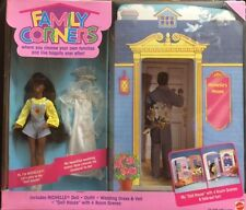 Mattel Family Corners Playset with 7 inch doll, Nichelle & fold out house