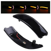 Dynamic LED Side Wing Mirror Indicator Lights Turn Signal For Ford Fiesta B-Max