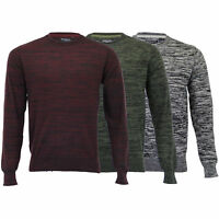 Mens Jumper Brave Soul Knitted Sweater Pullover Top Crew Neck Casual Winter New