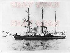 8CC962  PRESS PHOTO 1928 ROALD AMUNDSEN RESCUE SEARCH POLAR SHIP GUSTAVO HOLM