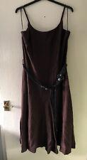 Dress Size Uk 20.Eur 48.Ladies TU Brown Adjustable Straps Holiday Dress size 20