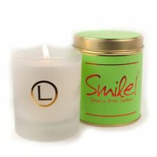 Lily Flame Smile! Glassware Candle