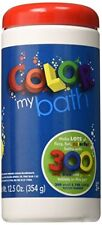 New Color My Bath Color Changing Bath Tablets 300 Piece Free Shipping