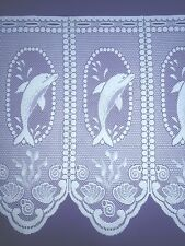 Bathroom / Kitchen Dolphin Cafe Net Curtain Finest Quality Autumn 2016 10 Meters (best per Meter )