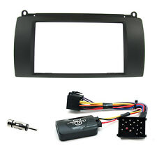 Rover 75 Double Din Fascia Panel w/ Steering Controls Car Stereo Fitting Kit