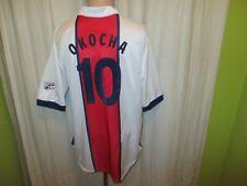 "Paris St.Germain Nike Auswärts Trikot 1998/99 ""OPEL"" + Nr.10 Okocha Gr.XL TOP"