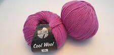 350 g Cool Wool Lana Grossa Fb 592 lila 100% Merino Wolle